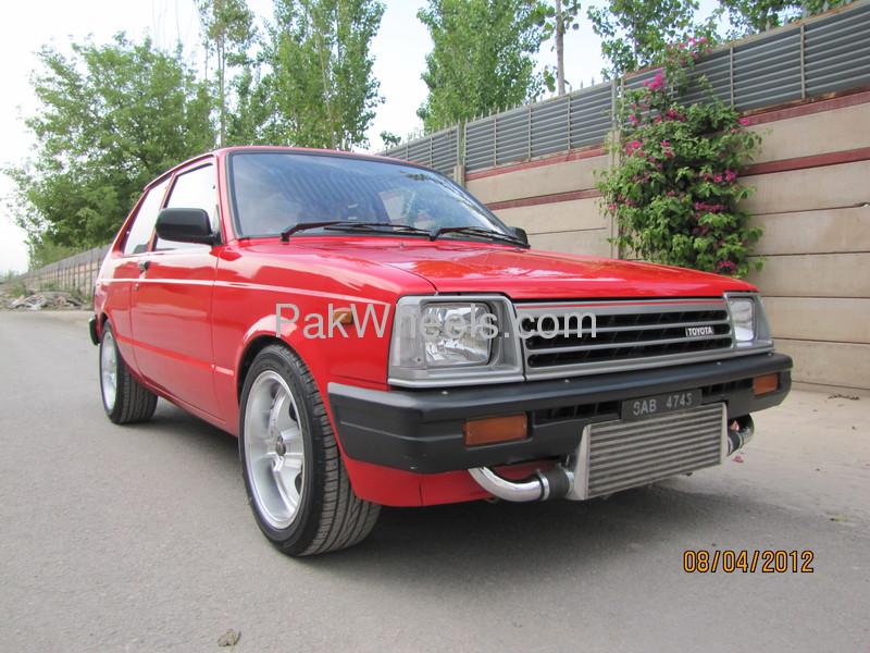 Toyota Starlet - 1984 no nick Image-1