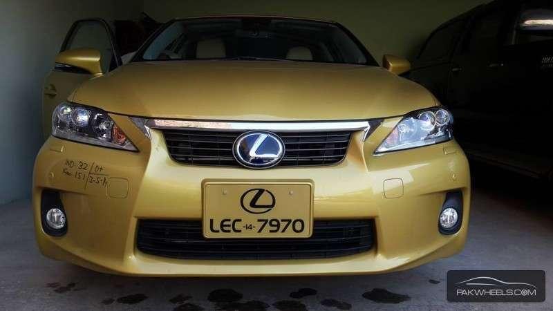 Lexus CT200h - 2011 ct Image-1
