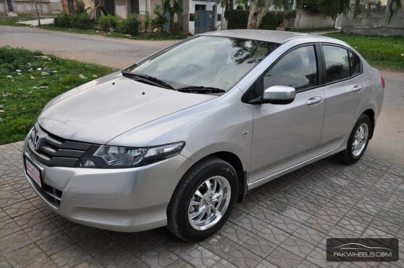 Honda City - 2013 Silver Hawk Image-1
