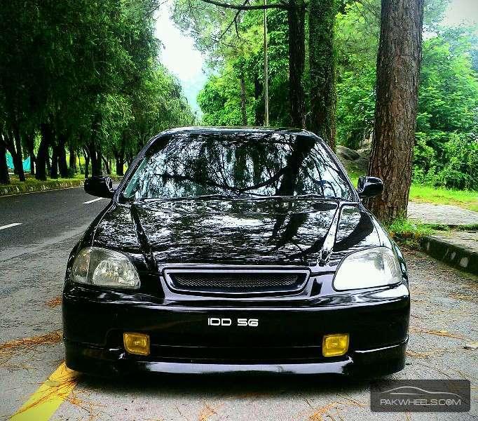 Honda Civic - 1996 Slammed EK  Image-1