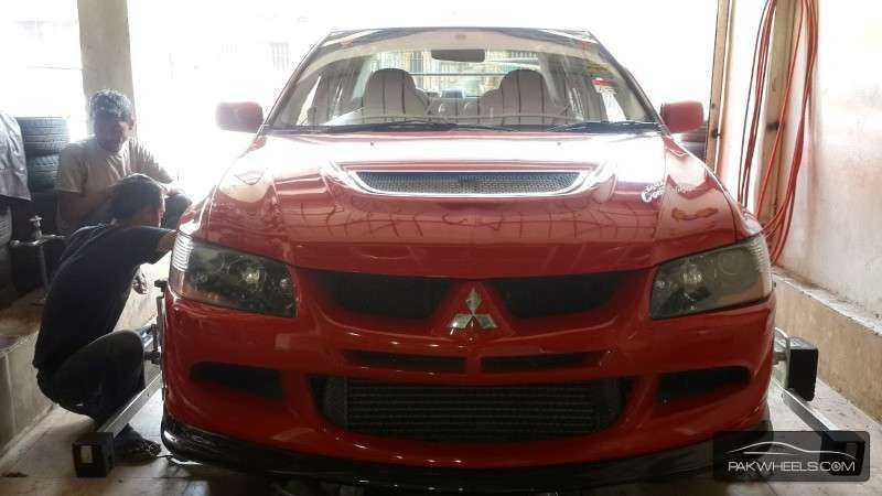 Mitsubishi Lancer - 2004 Red Beauty Image-1