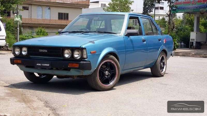 Toyota Corolla - 1980 The Blue One Image-1