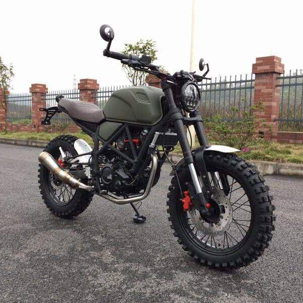 New FUEGO SCRAMBLER 250 2019 Price in Pakistan - Specs & Features