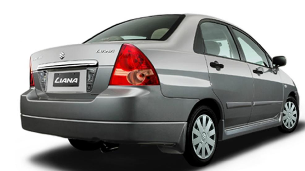 Suzuki Liana 2014 Exterior Rear View