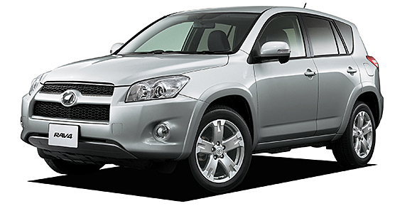Toyota Rav4  Exterior Front Side View