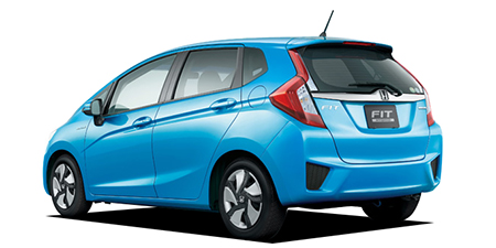 Honda Fit Exterior Rear View