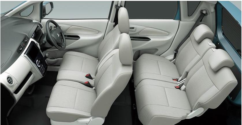Mitsubishi Ek Wagon  Interior Interior Cabin