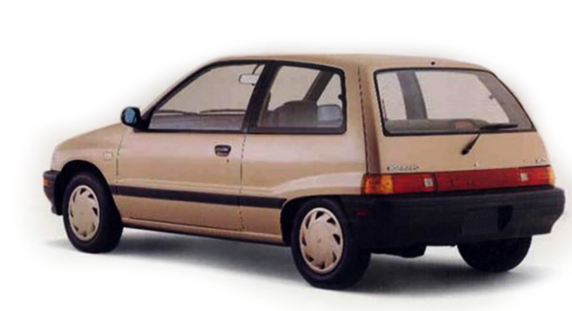 Daihatsu Charade 1993 Exterior Rear End