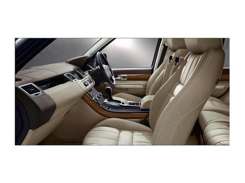 Range Rover Sport  Interior Cabin