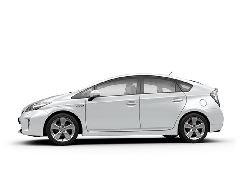 Toyota Prius Interior Side View