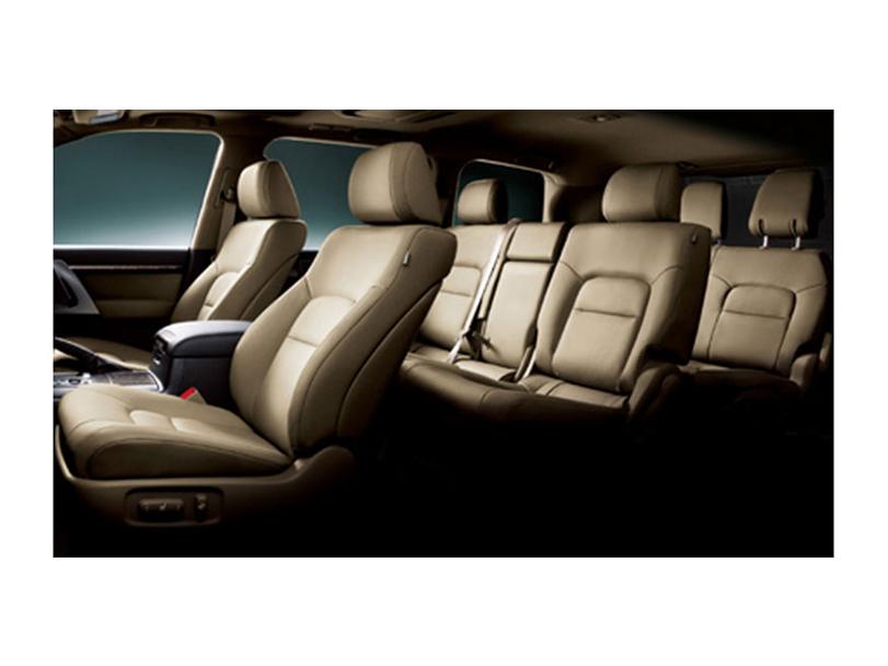 Toyota Land Cruiser Interior