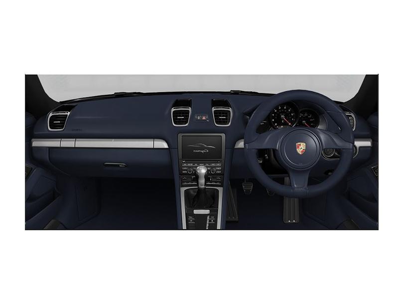 Porsche Cayman 2016 Interior
