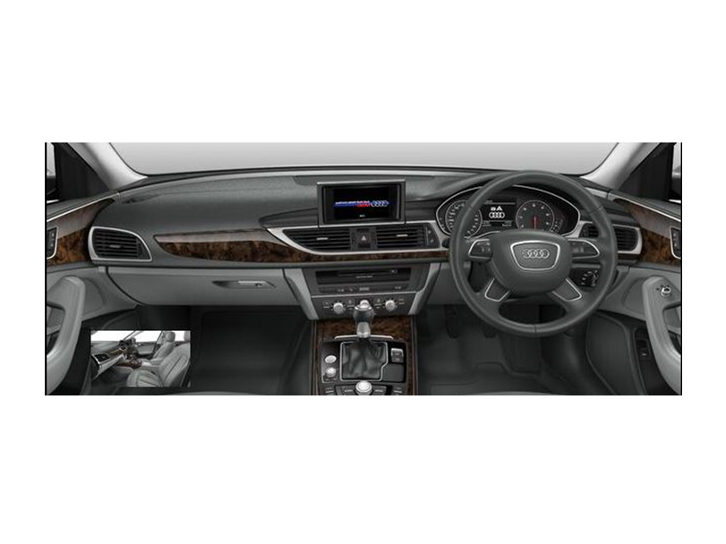 Audi A6 2018 Interior Dashboard