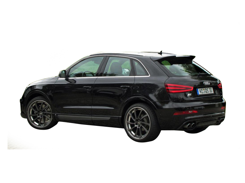 Audi Q3 2018 Exterior Rear Side View