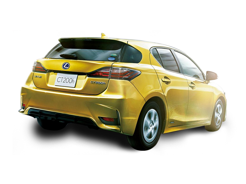 Lexus CT200h  Exterior Rear End
