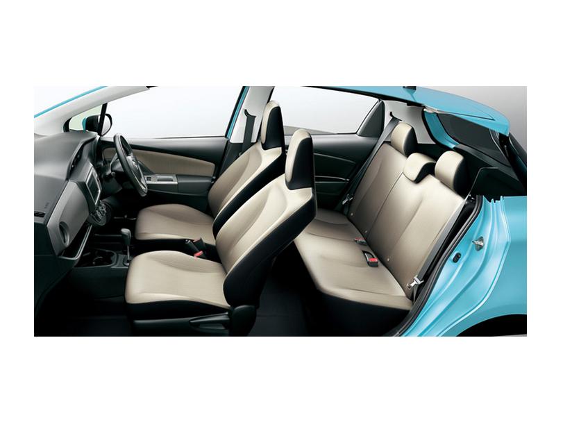 Toyota Vitz  Interior Cabin