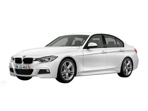 BMW 3 Series 2018 Exterior Side View