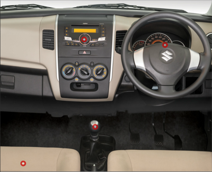 Suzuki Wagon R 2018 Interior Dashboard