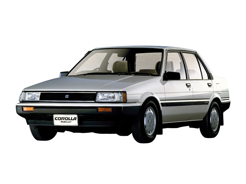 Toyota Corolla 1987 Interior