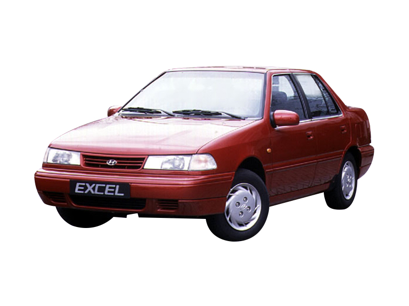 Hyundai Excel 1995 Exterior