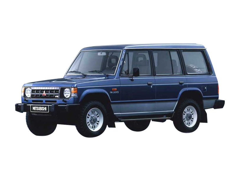 Mitsubishi Pajero 1991 Interior
