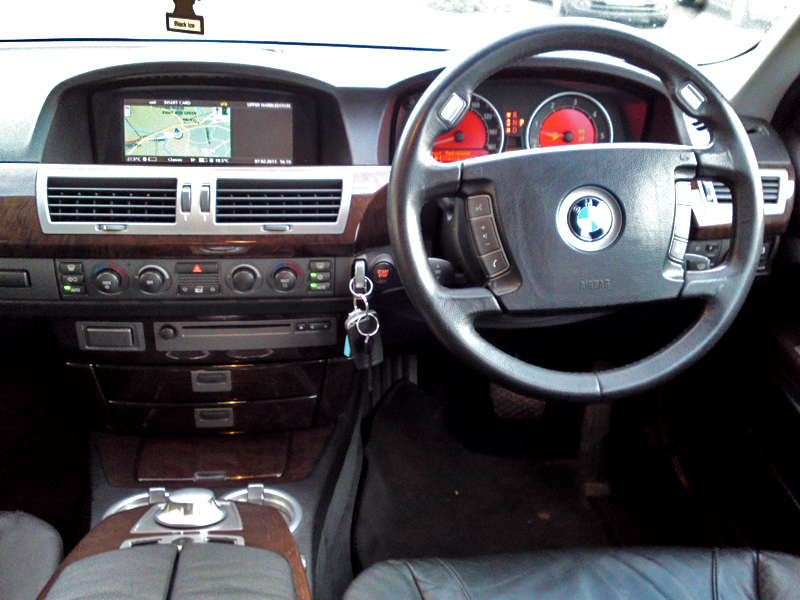 BMW 7 Series 2009 Interior Dashboard