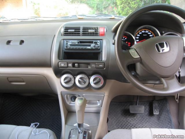 Honda City 2008 Interior Dashboard