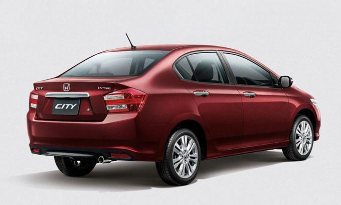 Honda City 2020 Exterior Rear Side View