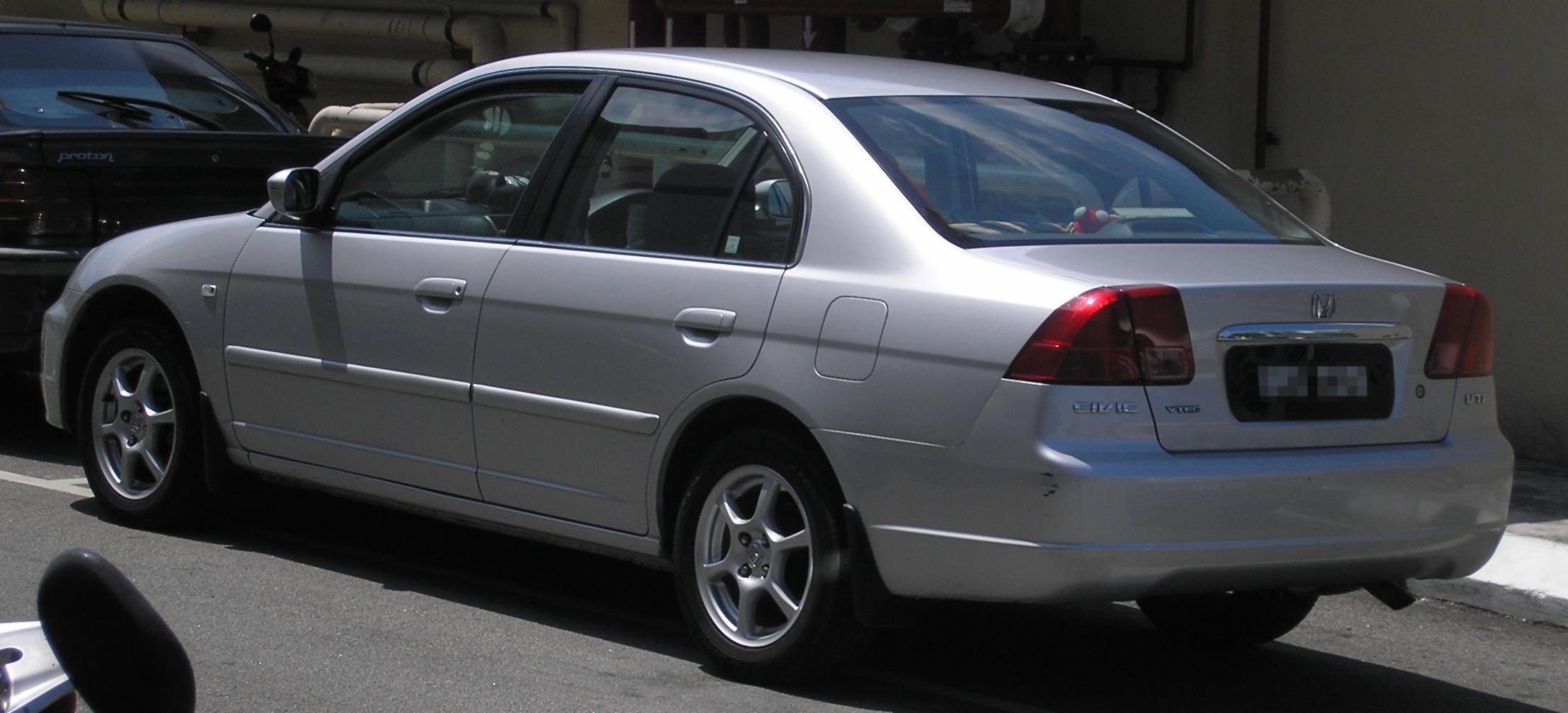 Honda Civic 2004 Exterior Rear Side View