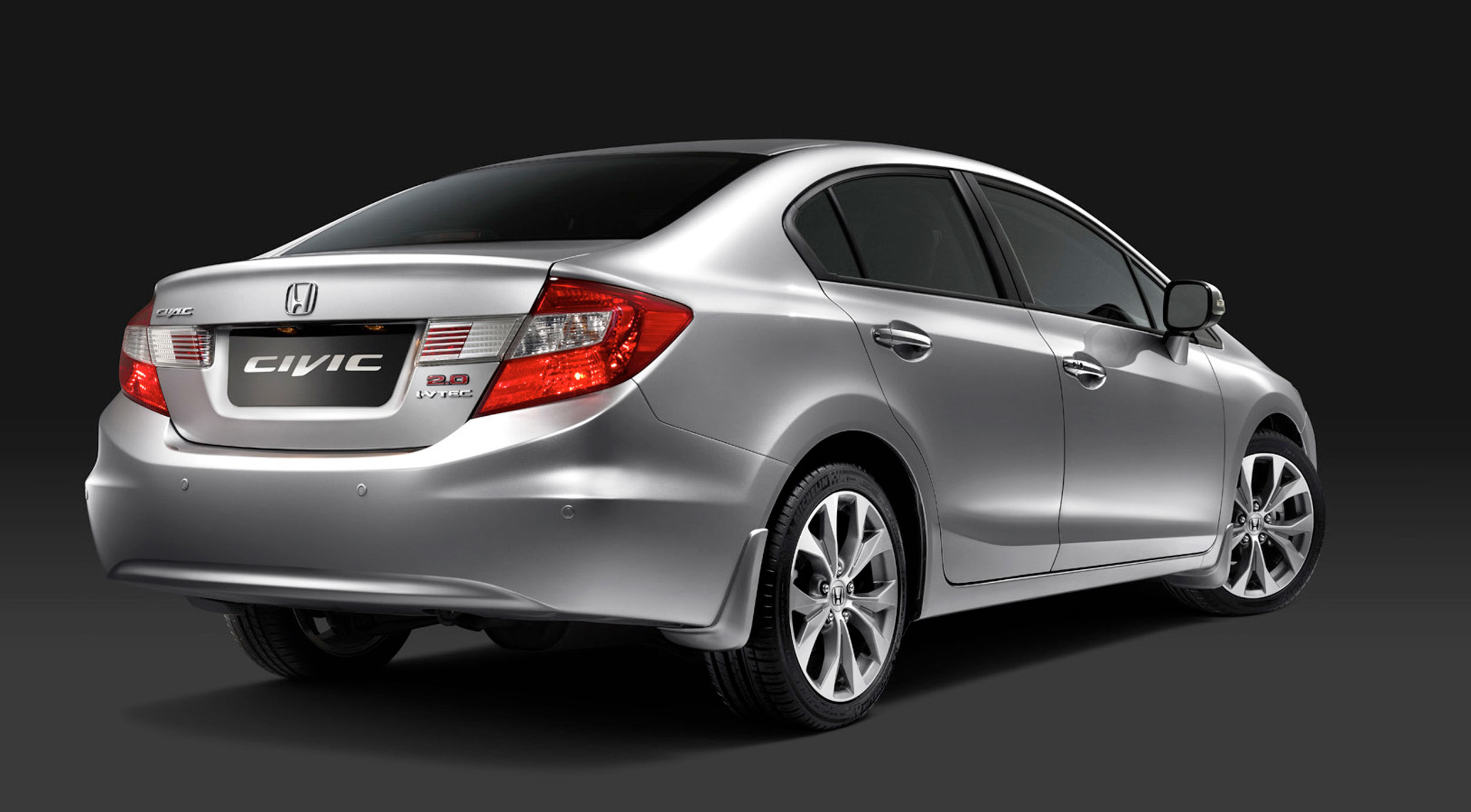 Honda Civic 2016 Exterior Rear Side View