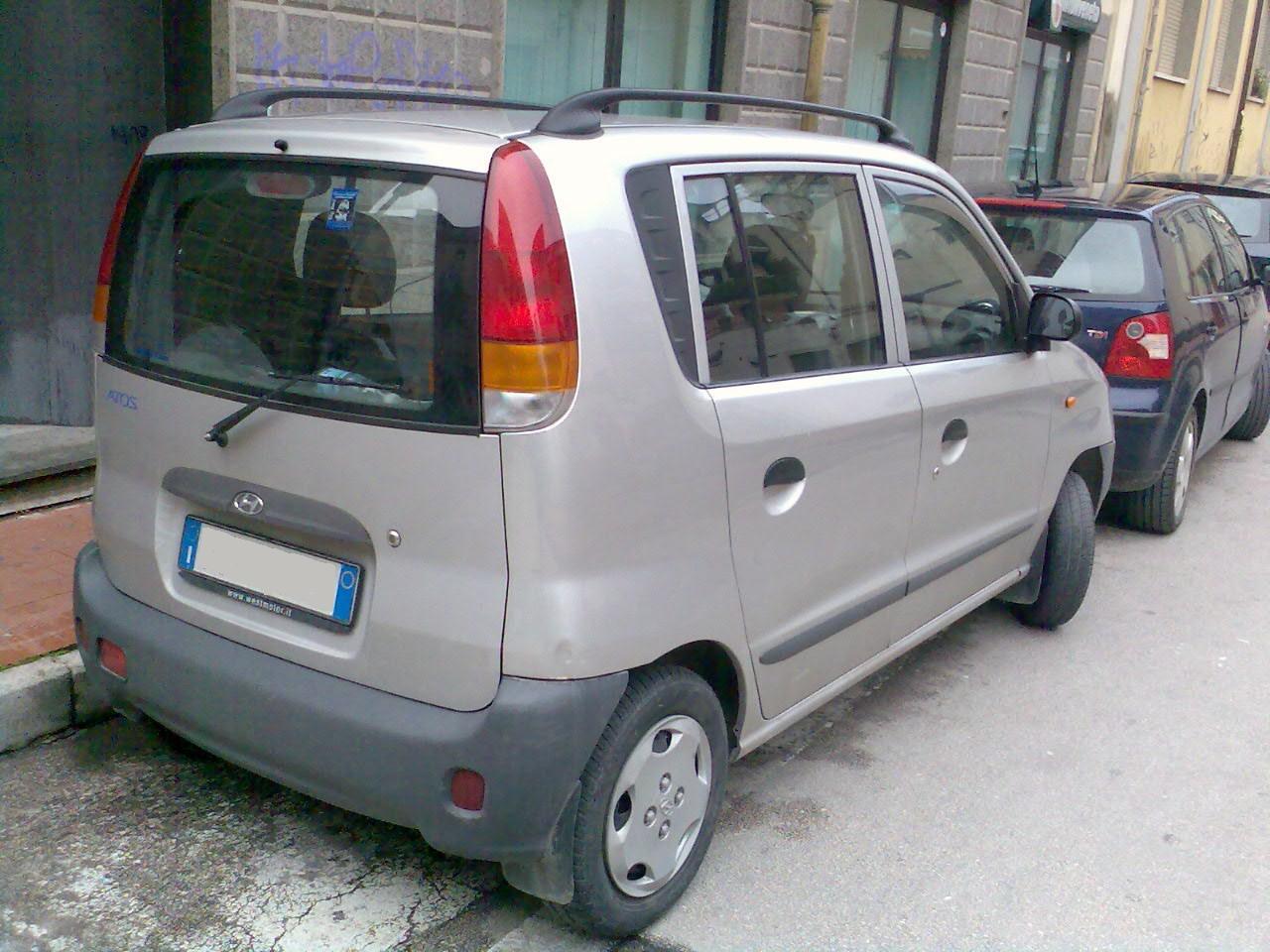 Hyundai Santro 2003 Exterior Rear View