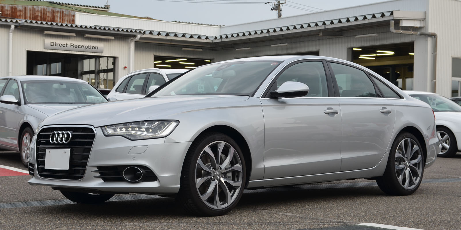 Audi A6 2019 Exterior Side View