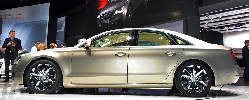 Audi A8  Exterior Side View