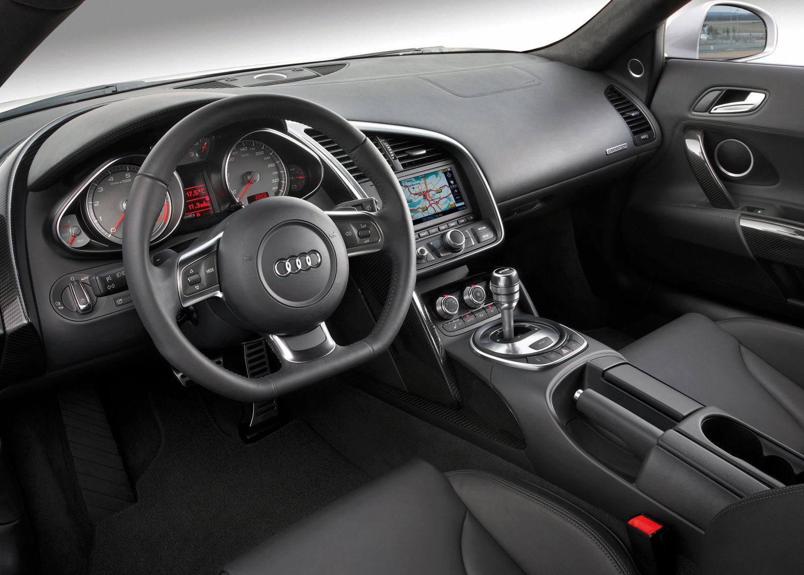 Audi R8  Interior Dashboard