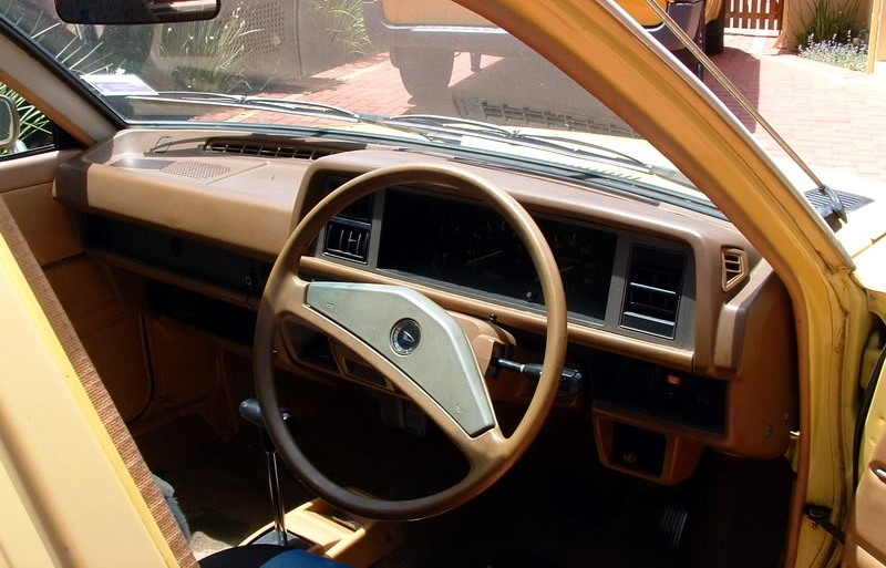 Daihatsu Charade 1983 Interior Dashboard