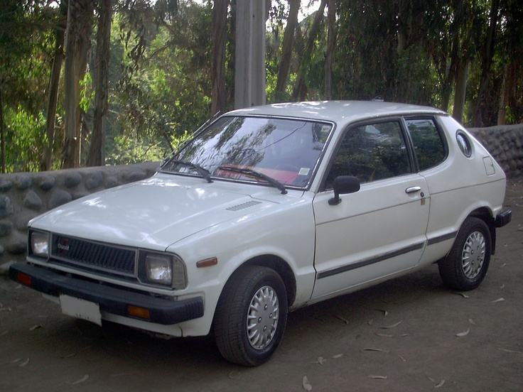 Daihatsu Charade 1983 Exterior Side View