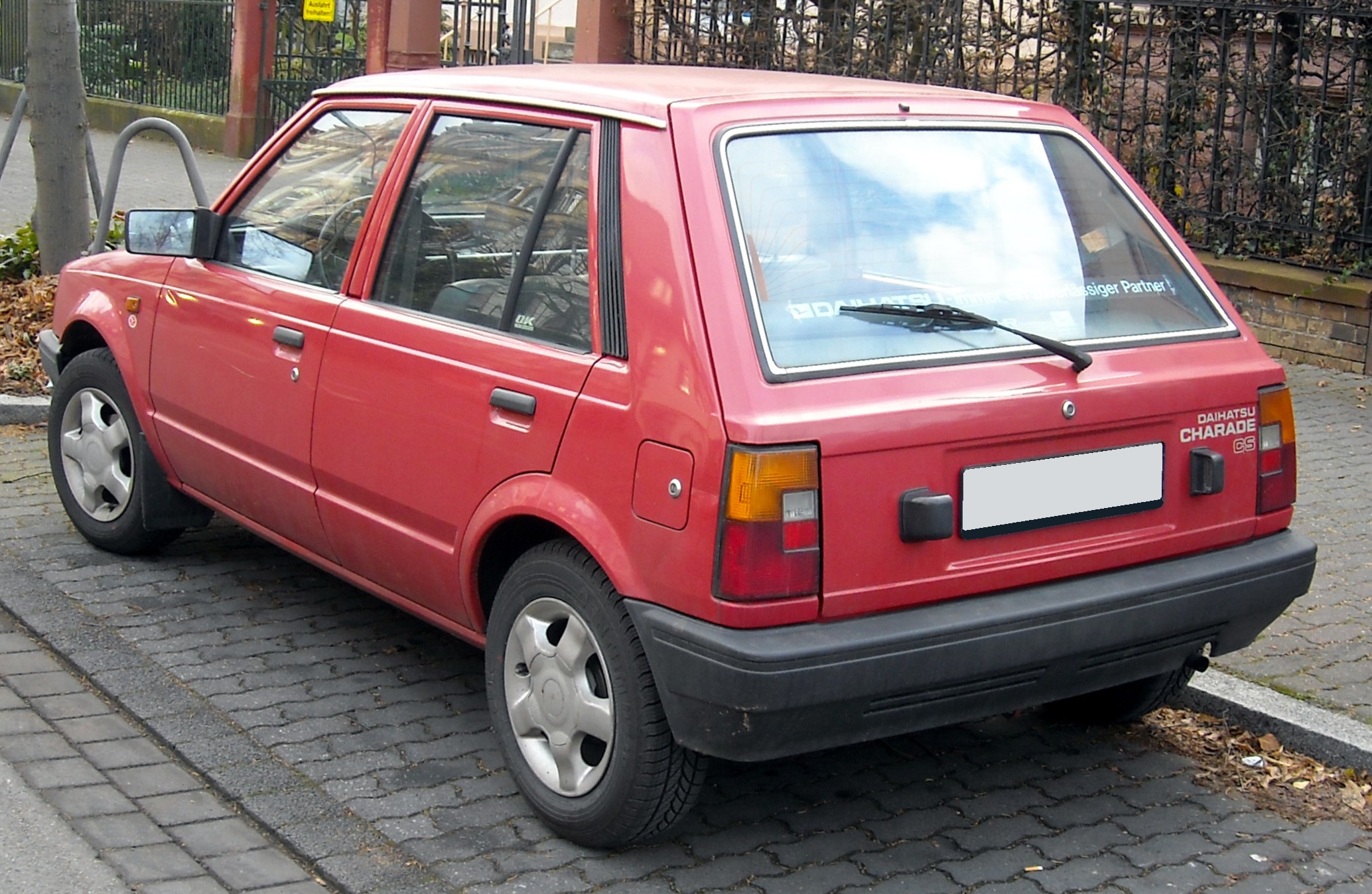 Daihatsu Charade 1987 Exterior Rear End