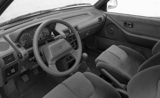 Daihatsu Charade 1993 Interior Dashboard