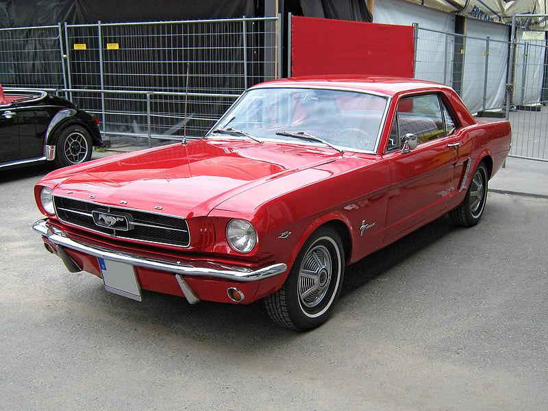 Ford Mustang  Exterior Front View