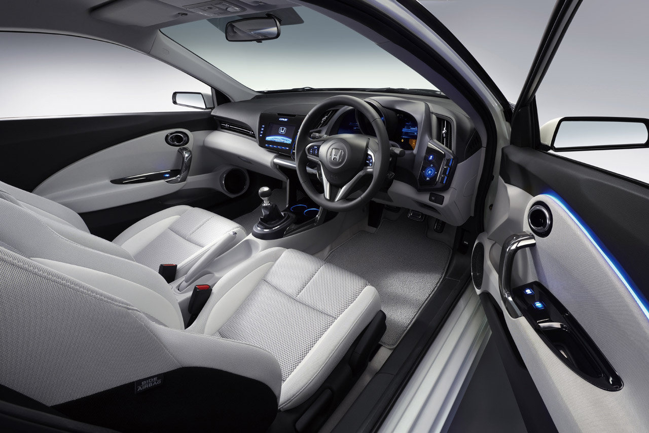 Honda Cr Z Sports Hybrid 2016 Interior Cabin