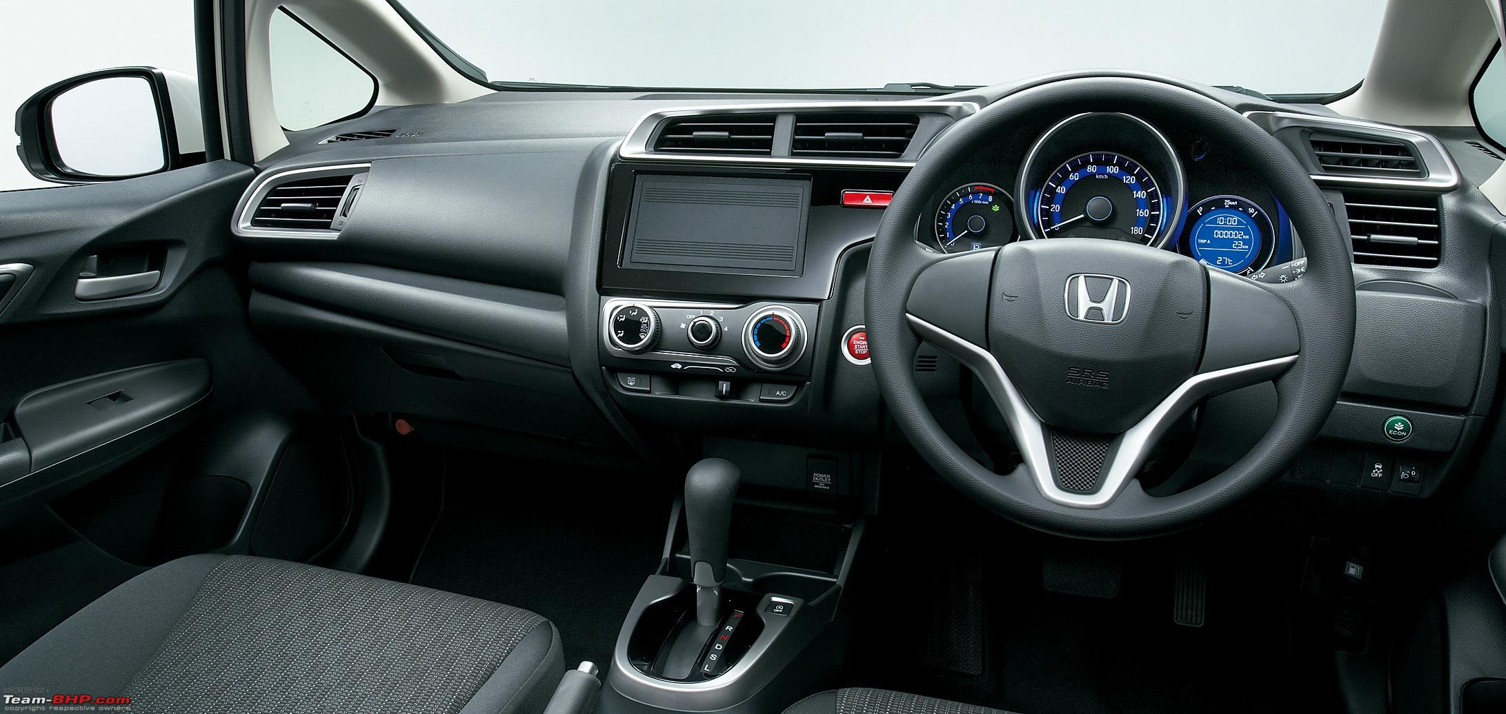 Honda Fit  Interior Dashboard
