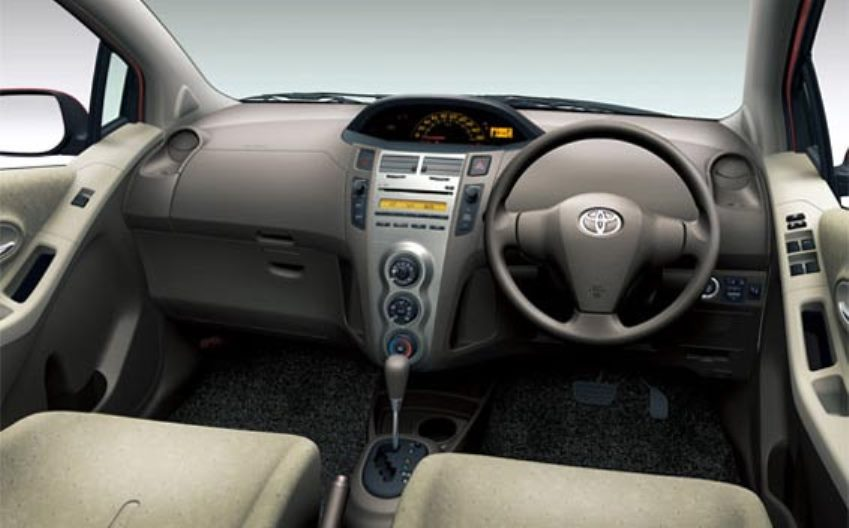 Toyota Vitz 2011 Interior Dashboard