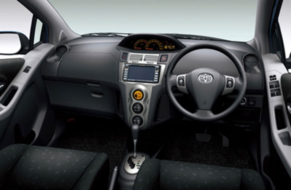 Toyota Vitz 2010 Interior Dashboard