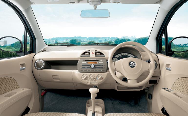 Suzuki Alto 2009 Interior Dashboard