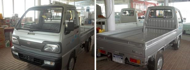 Sogo Pickup  Exterior Front and Rear End
