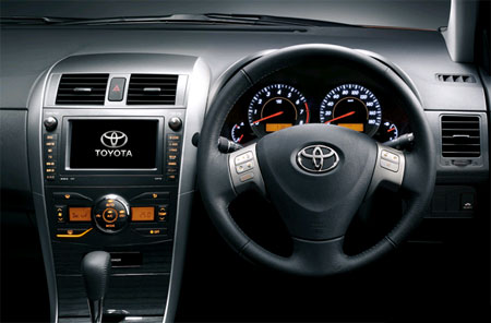 Toyota Corolla Fielder 2012 Interior Dashboard