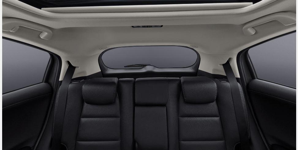 Honda HR-V  Interior Rear Cabin