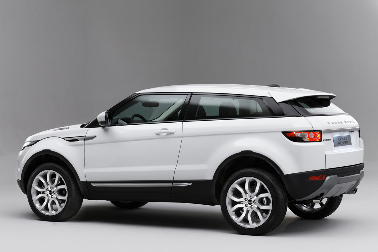 Range Rover Evoque  Exterior Rear Side View