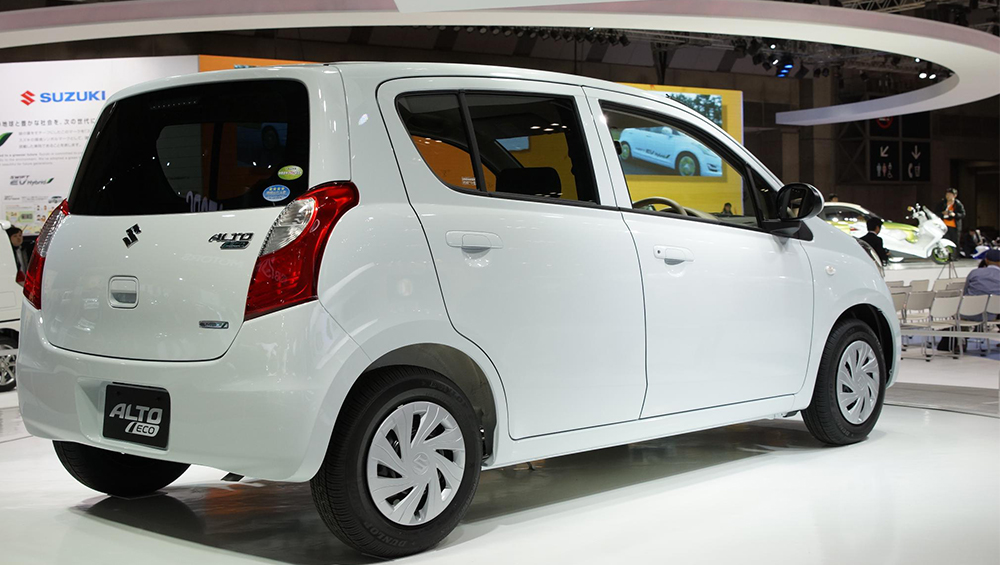 Suzuki Alto 2017 Exterior Rear Side View