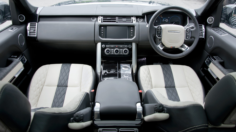 Range Rover Vogue  Interior Dashboard
